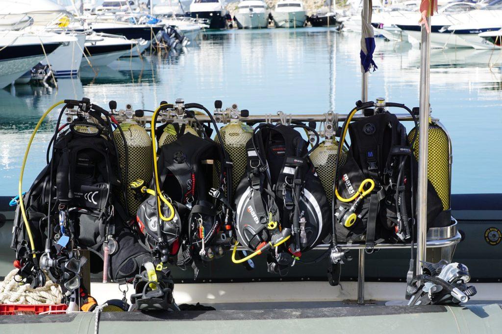 diving, обучение дайвингу, дайвинг в Москве, boats